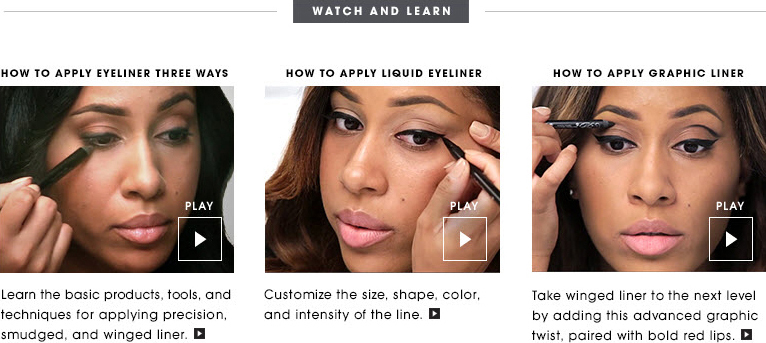 Sephora eyeliner application tips